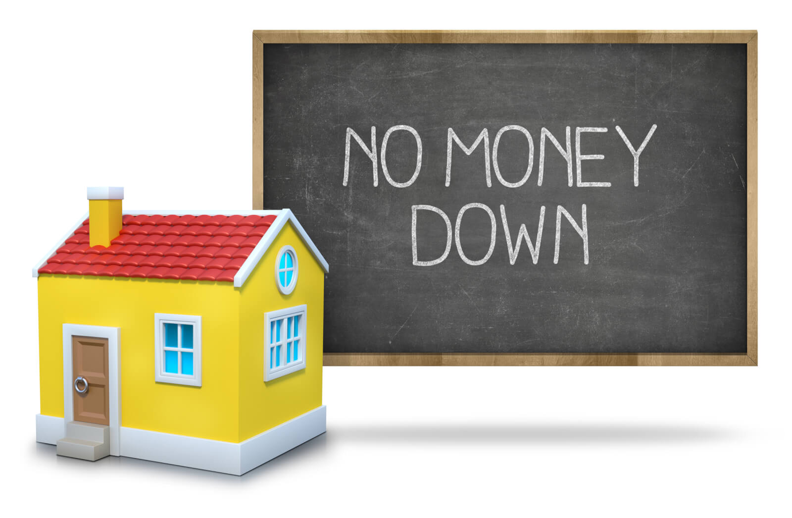 "Can You Really Buy Real Estate with ""No Money Down""?"